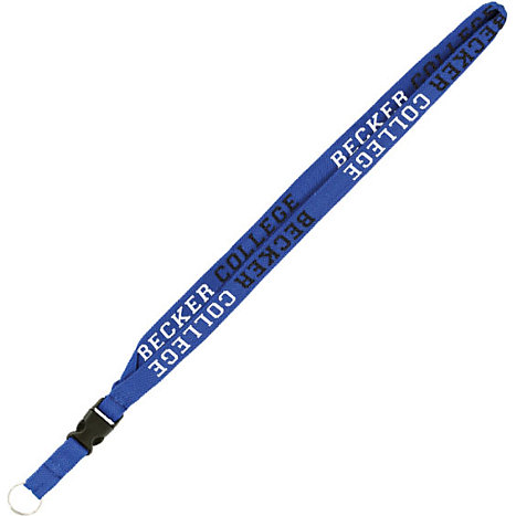 Product: Becker College 3/4'' Woven Lanyard