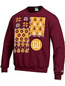 Gannon University Ugly Sweater Crewneck Sweatshirt