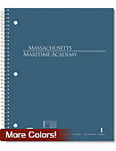 Massachusetts Maritime Academy 100 Sheet Notebook