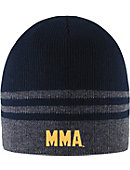 Massachusetts Maritime Academy Striped Beanie