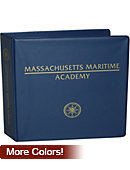 Massachusetts Maritime Academy 2'' Binder