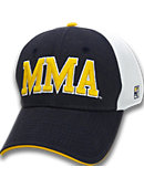 Massachusetts Maritime Academy Stretch Fitted Micro Mesh Cap