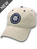 Massachusetts Maritime Academy Adjustable Leather Strap Cap