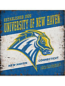 University of New Haven Vintage Tin Sign