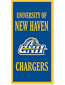 University of New Haven Chargers 18''x36'' Banner
