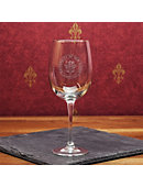 University of New Haven 16 oz. Wine Glass