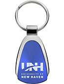 University of New Haven Teardrop Keychain