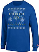 University of New Haven Ugly Sweater Long Sleeve T-Shirt