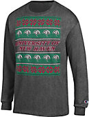 University of New Haven Ugly Christmas Sweater Long Sleeve T-Shirt
