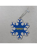 University of New Haven 3'x4' Glass Ornament