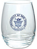 University of New Haven Stemless Wine Glass