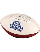 University of New Haven Chargers Autograph Football