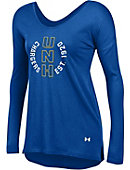 University of New Haven Women's Drapey Long Sleeve T-Shirt