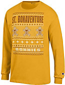 St. Bonaventure University Bonnies Ugly Christmas Sweater Long Sleeve T-Shirt