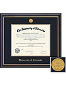 University of Nebraska - Lincoln 8.5x11  Prestige Diploma Frame