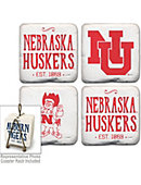 University of Nebraska - Lincoln Vintage Coaster Set of 4