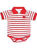 University of Nebraska - Lincoln Infant Bodysuit Striped Polo