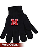 University of Nebraska - Lincoln Knit Gloves