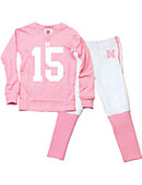 University of Nebraska - Lincoln Football Toddler Girl's Lounge Set