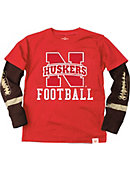 University of Nebraska - Lincoln Football Boy's Long Sleeve T-Shirt