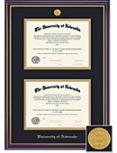 University of Nebraska - Lincoln 8.5'' x 11'' Windsor Diploma Frame