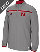 adidas University of Nebraska - Lincoln Sideline 1/4 Zip Pullover
