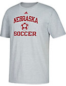 Adidas University of Nebraska - Lincoln Soccer T-Shirt