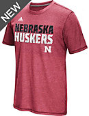 adidas University of Nebraska - Lincoln Aeroknit T-Shirt
