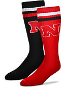 University of Nebraska - Lincoln Women's Mismatch Socks
