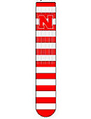 University of Nebraska - Lincoln Stripped Tube Socks
