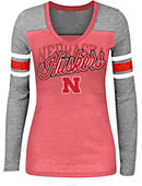 University of Nebraska - Lincoln Women's V-Neck Long Sleeve T-Shirt