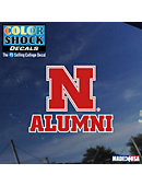 Huskers Alumni Decal