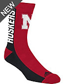 adidas University of Nebraska - Lincoln Sox