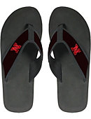 University of Nebraska - Lincoln Canvas Versity Flip Flops