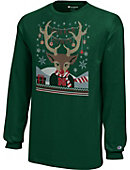 University of Nebraska - Lincoln Huskers Youth Christmas Long Sleeve T-Shirt