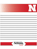 University of Nebraska - Lincoln Huskers Memo Pad 2 Pack