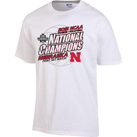 University of nebraska women 39 s volleyball 2015 ncaa for National championship t shirts