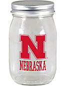 University of Nebraska - Lincoln 16 oz. Mason Jar