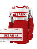 University of Nebraska - Lincoln Women's Long Sleeve Ugly Sweater Ra Ra Shirt
