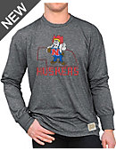 University of Nebraska - Lincoln Huskers Long Sleeve Mock Twist T-Shirt