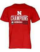 Nebraska Huskers Football 2015 Foster Farms Bowl Champions T-Shirt