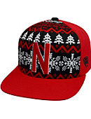 University of Nebraska - Lincoln Flatbill Christmas Snapback Cap