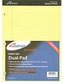 LEGAL PAD 100 SHEET DUAL/CANARY