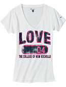 Women's Love The College of New Rochelle T-Shirt