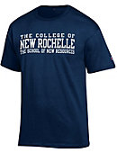 College of New Rochelle 'School of New Resources' T-Shirt