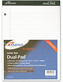 LEGAL PAD 100 SHEET DUAL/WHITE