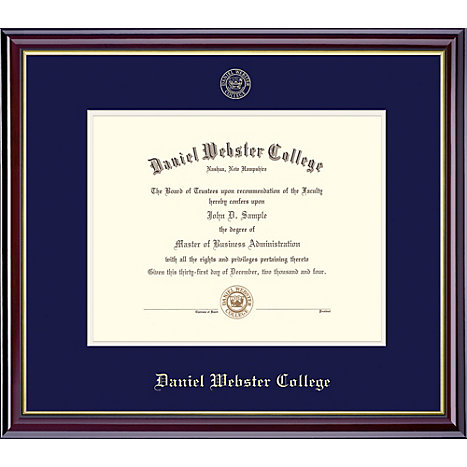 Product: Daniel Webster College 11'' x 14'' Windsor Diploma Frame