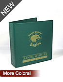 Daniel Webster College Eagles 2'' Vinyl Binder