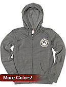 Mount Holyoke College Women's Full Zip Hooded Sweatshirt