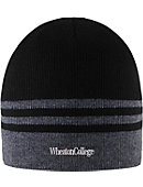 Wheaton College Striped Beanie